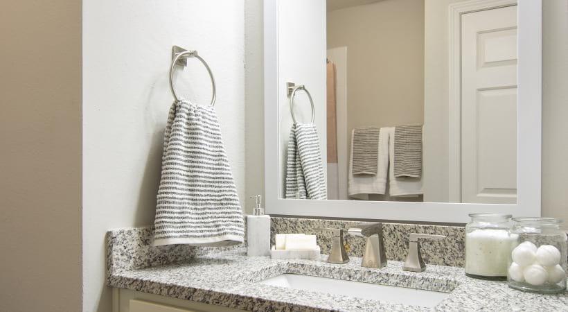 Bathroom vanity at Cortland East Cobb