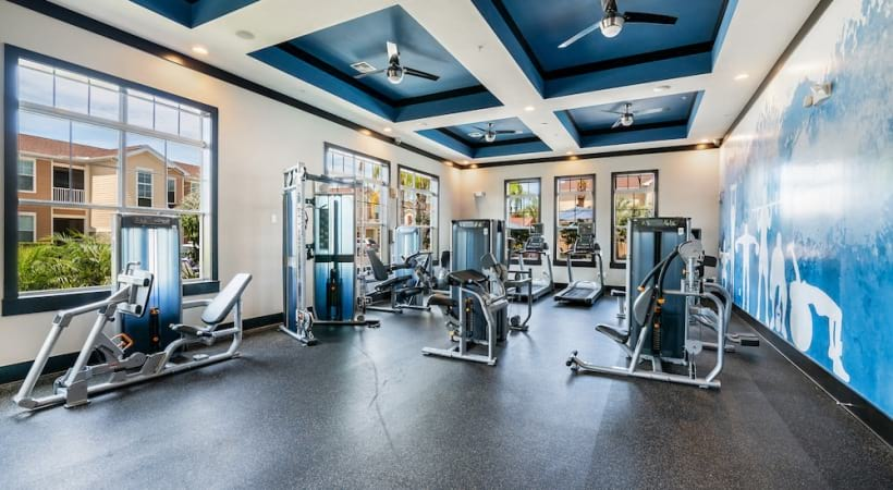 Cortland apartments with fitness center