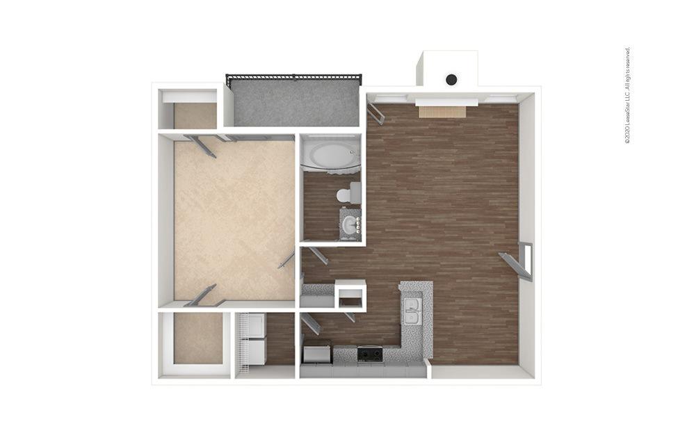 Legacy West 1 bedroom 1 bath 856 square feet (1)