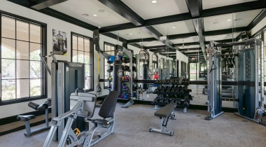 Apartment gym at our Cinco Ranch apartments