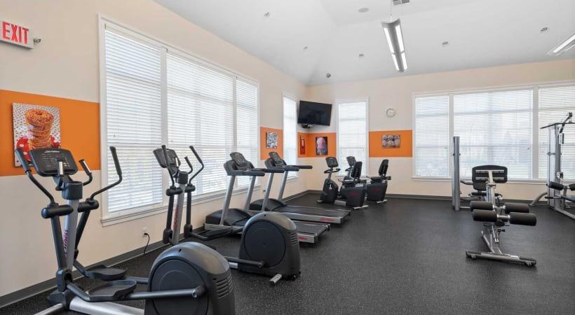 Fitness Center at Northlake Summit Apartments