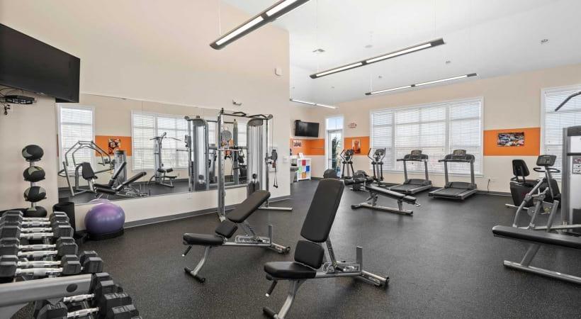 Gym at Northlake Summit Apartments