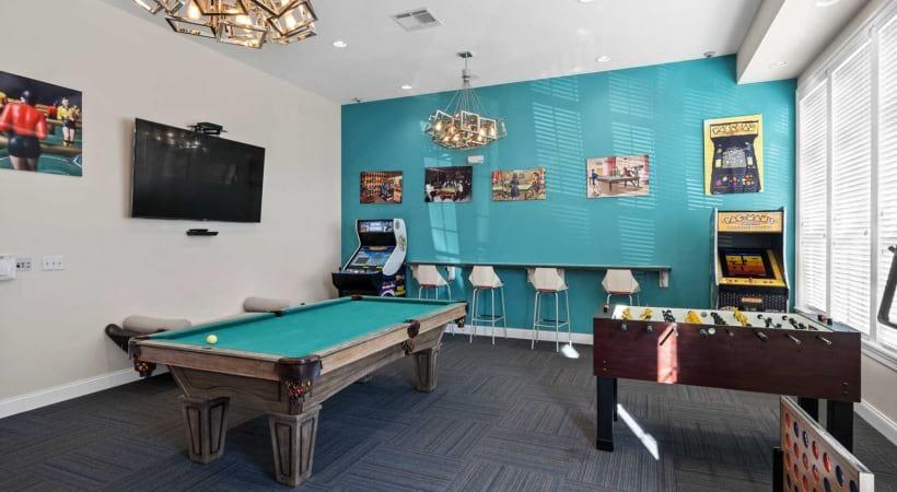 Billiards at Northlake Summit Apartments