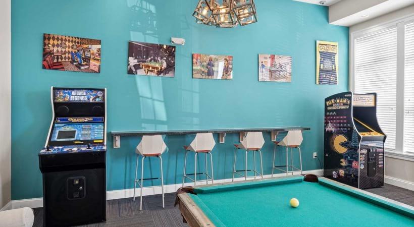 Games Room at Northlake Summit Apartments