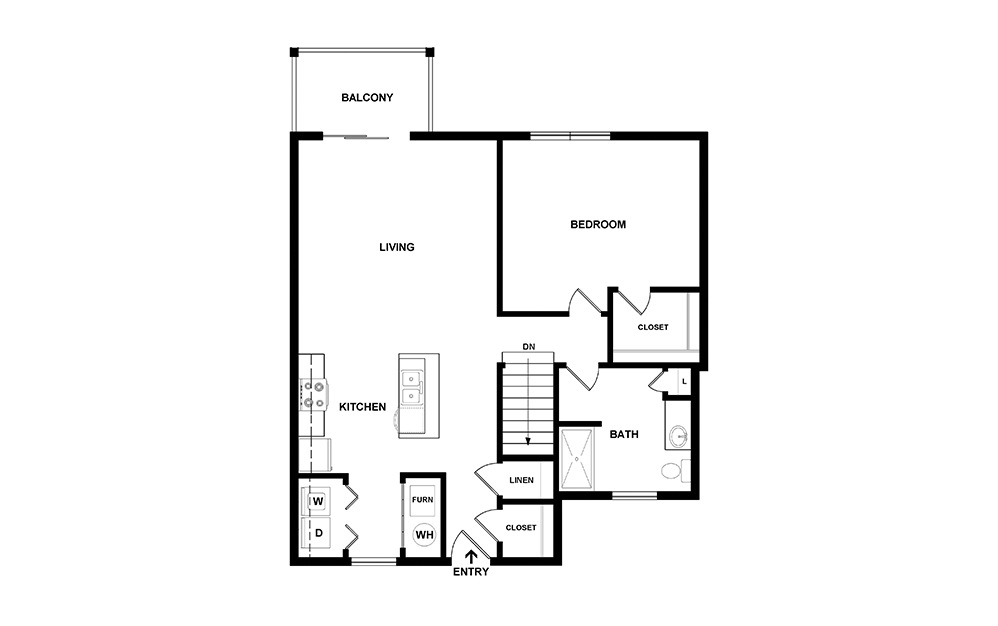 Arbor I Second Floor Layout