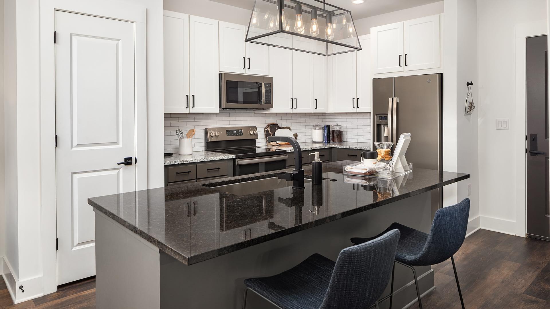Modern Kitchen at Cortland West Nashville