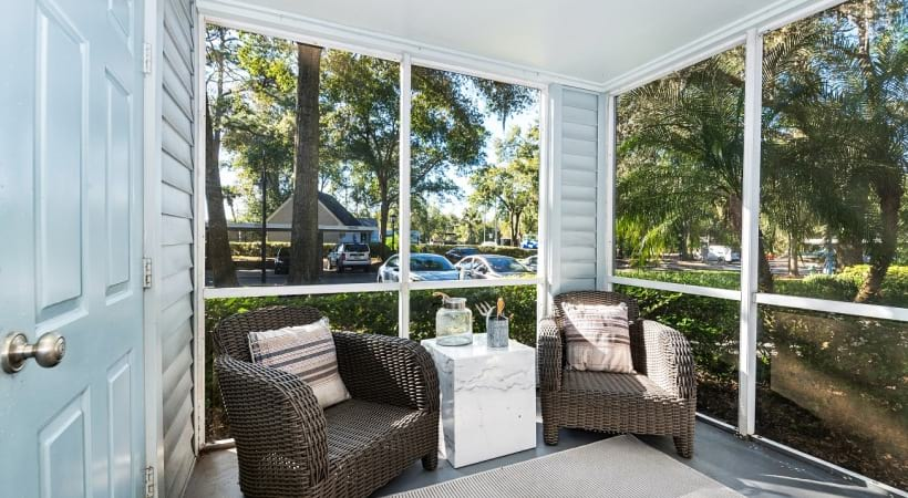 Screened-In Patios and Balconies