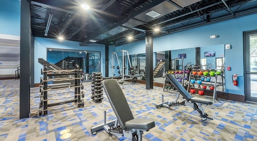 Apartments for rent in West Palm Beach, FL with fitness center