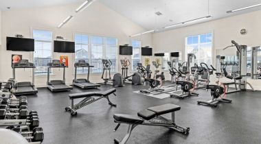 Resident Fitness Center Powell Grand Apartments