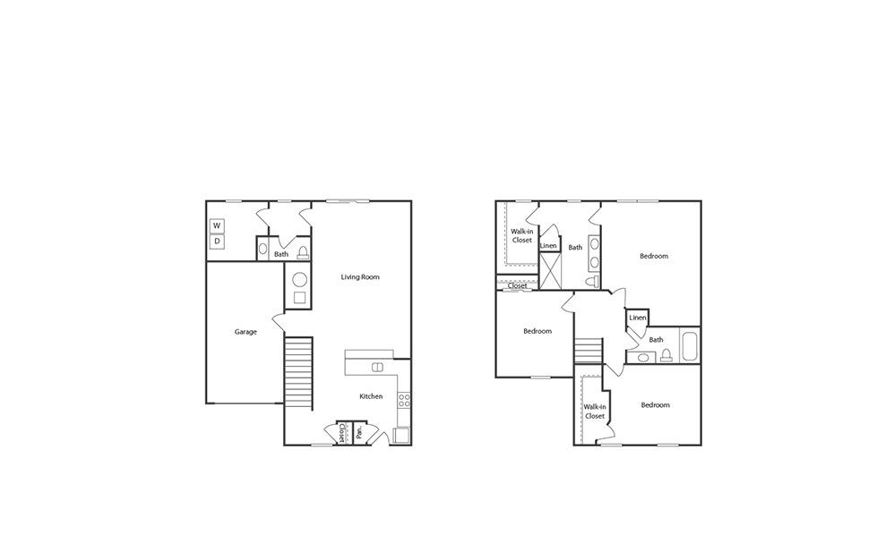 Trademark Floor Plan | Powell Grand