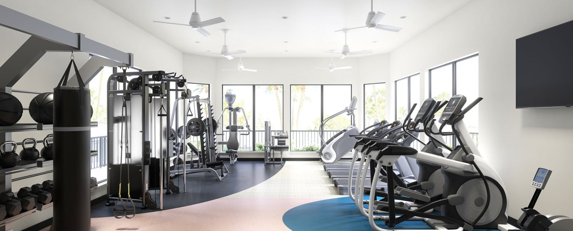 West Plano apartments with gym
