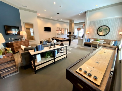 Apartments with game room at Cortland Spring Cypress