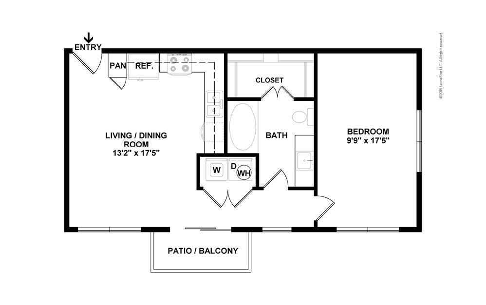 S2 2D Floor Plan