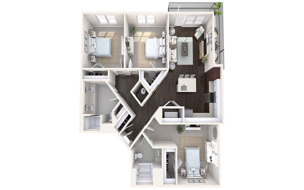 Skiff Floor Plan
