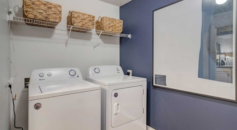 Irving apartments with in-home washer & dryer sets