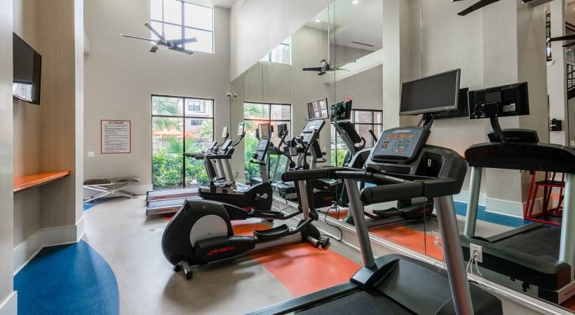 Cinco Ranch apartments with fitness center