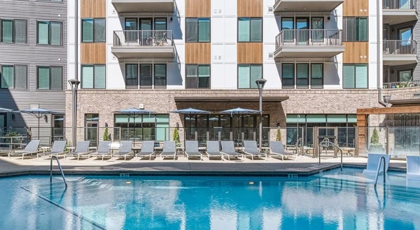 Resort-Style Pool At Our Apartments In Brookhaven, GA