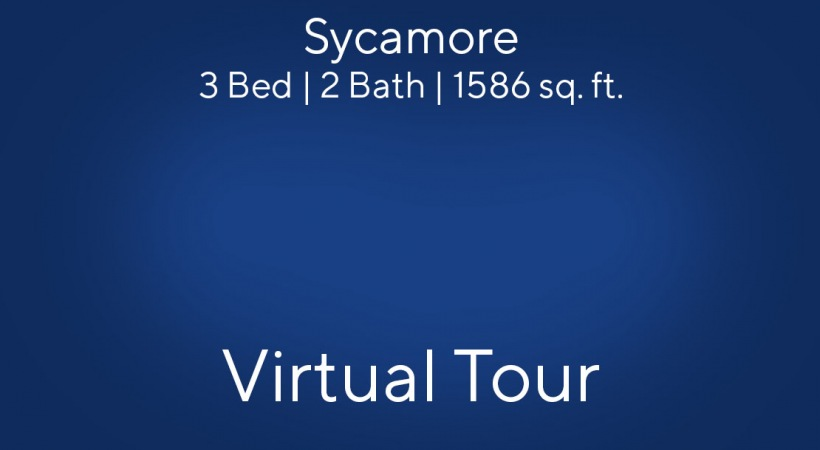 Sycamore 3 Bed | 2 Bath | 1586 sq. ft.