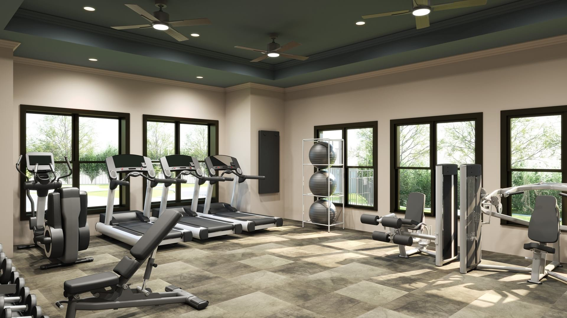 Renovated Fitness Center- Coming Soon!