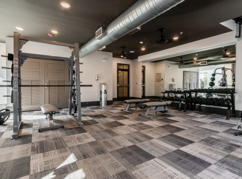 Huntersville apartments with fitness center