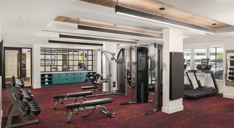 Scottsdale apartments with gyms