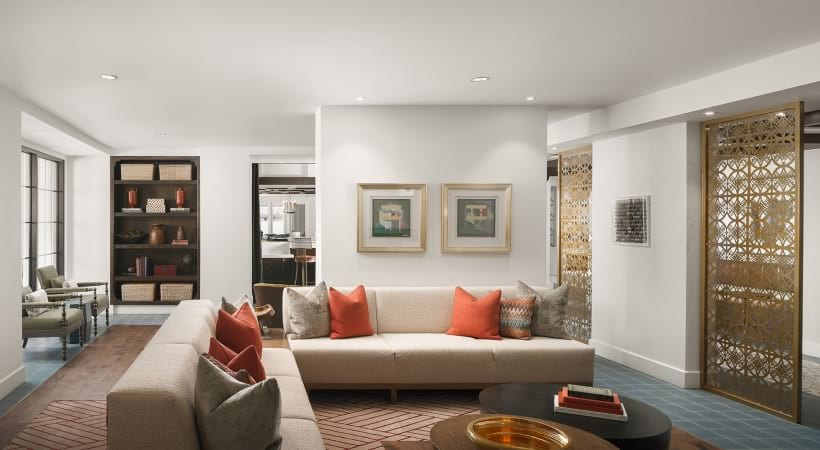 Resident clubhouse at luxury apartments in Phoenix, AZ