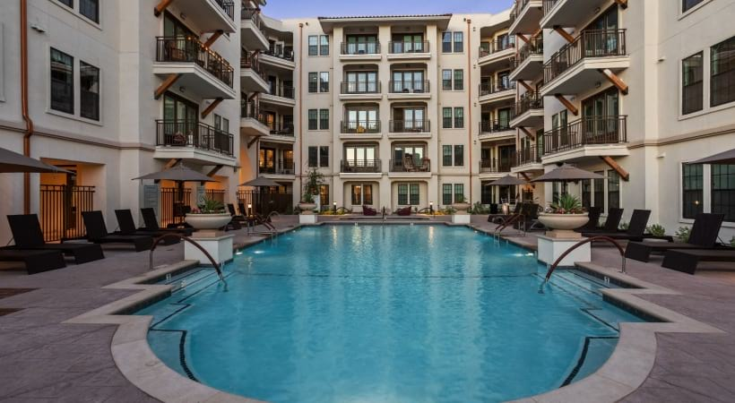 Paradise Valley apartments with pool