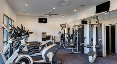 Our Westover Hills Apartment Gym with Updated Equipment