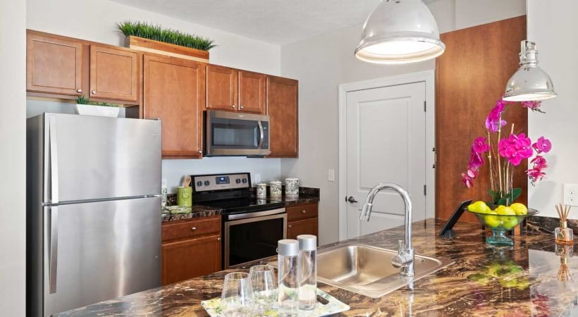 Spacious Kitchens at Powell Grand