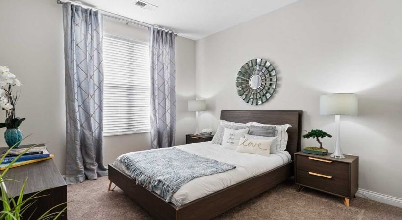 Bedroom at Powell Grand Apartments