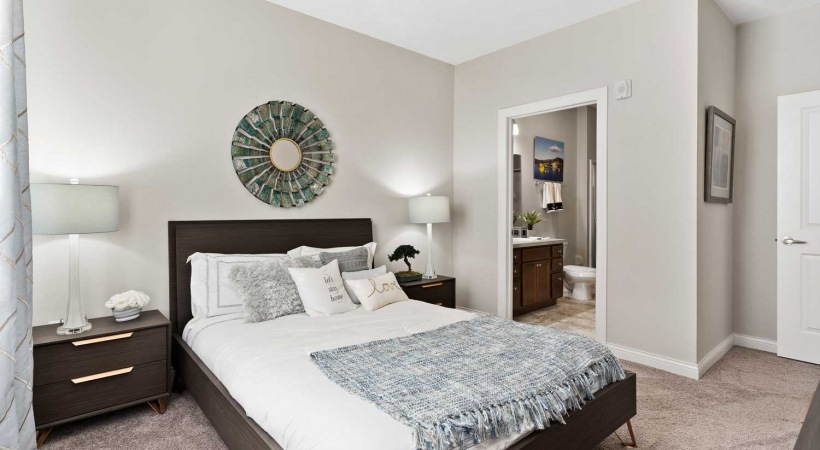 Bedrooms at Powell Grand