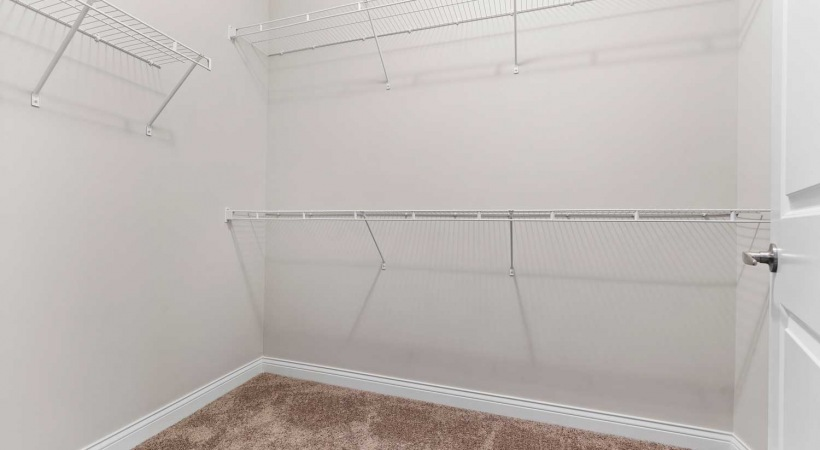 Generous Walk-in Closets at Apartments in Oletangy School District