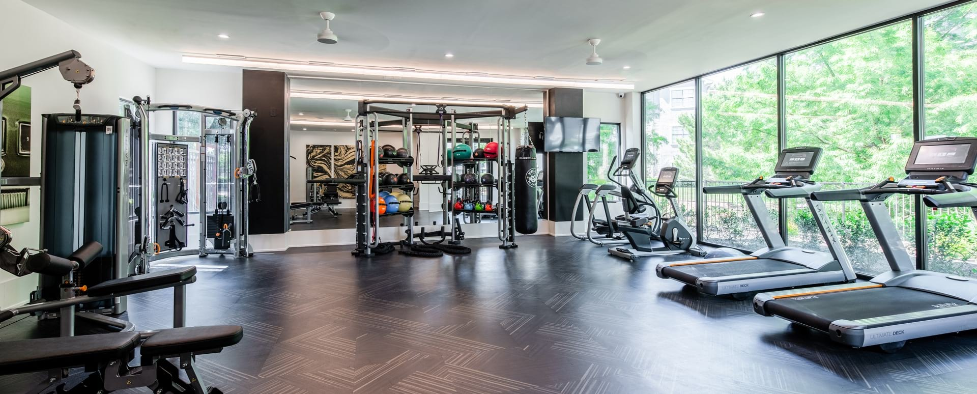 Brand New Fitness Center with Spin Studio