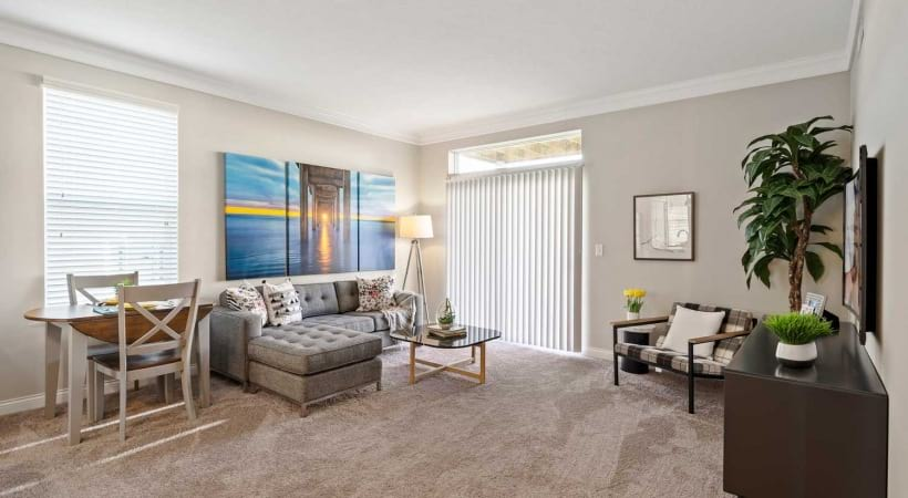 Living Room at Northlake Summit Apartments