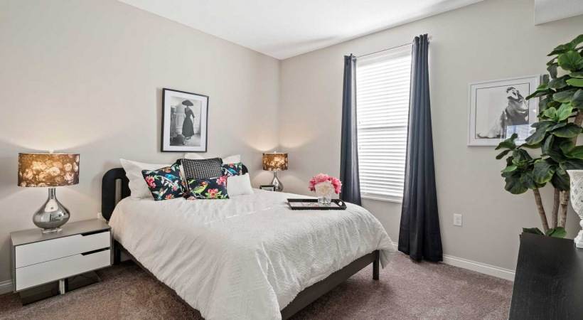 Large Bedrooms at Northlake Summit Apartments