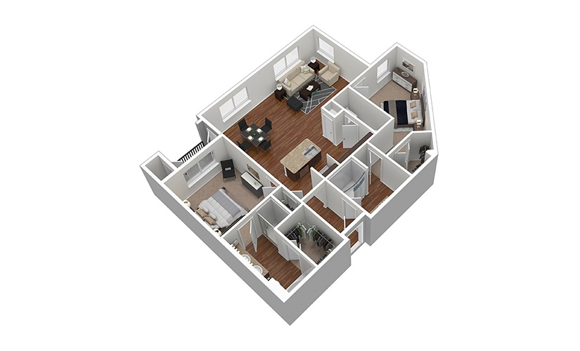 B3 Floor Plan Thumbnail
