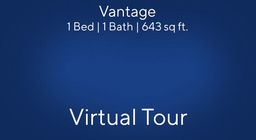 Vantage Virtual Tour | 1 Bed/1 Bath