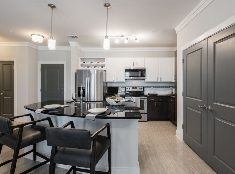 Kitchen Space at Apartments in Allen TX