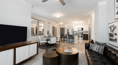Luxury living space at apartments for rent in Allen, TX