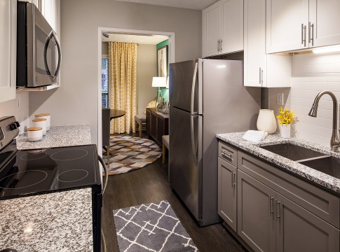 Kitchen with Granite Countertops at our Smyrna Apartments