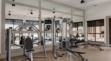 West Houston apartments with fitness center