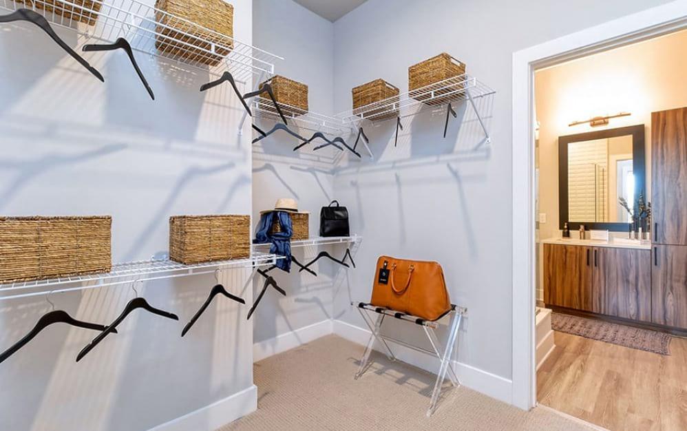 Meadowsweets Walk-in Closet