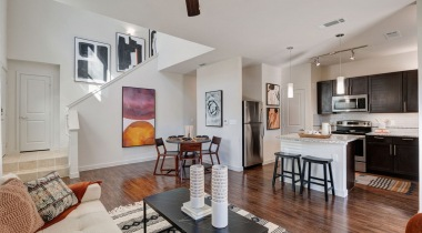 Townhome-style apartment at Cortland Walker Ranch