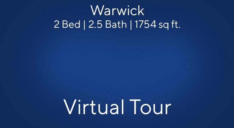 Warwick Virtual Tour | 2 Bed/2.5 Bath