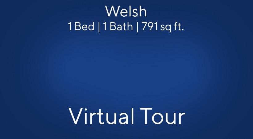 Welsh Virtual Tour | 1 Bed/1 Bath