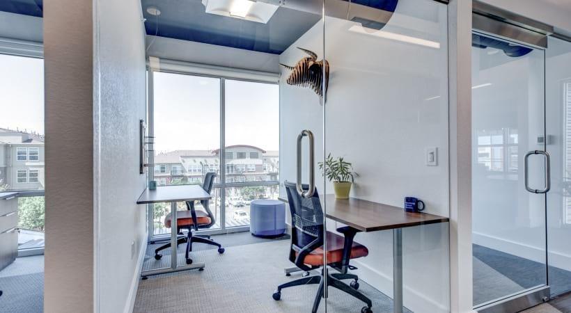 Personal offices at our luxury apartments in Highlands Ranch, CO