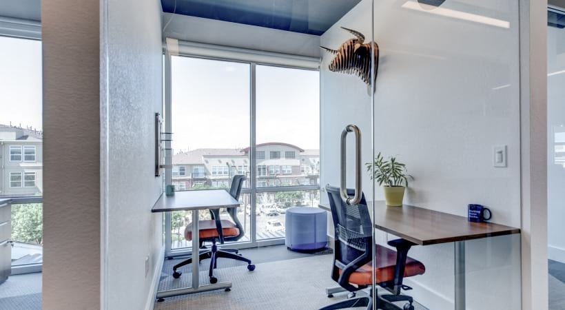 Personal offices at our Lone Tree apartments