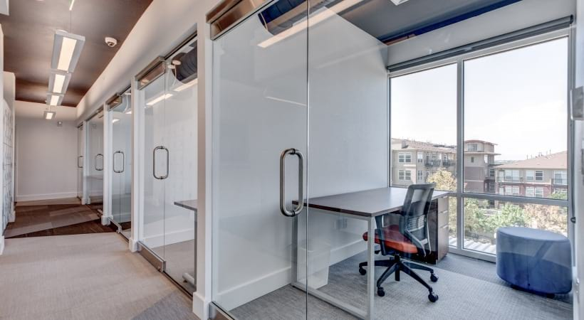 Personal offices at our modern apartments near Parker, CO