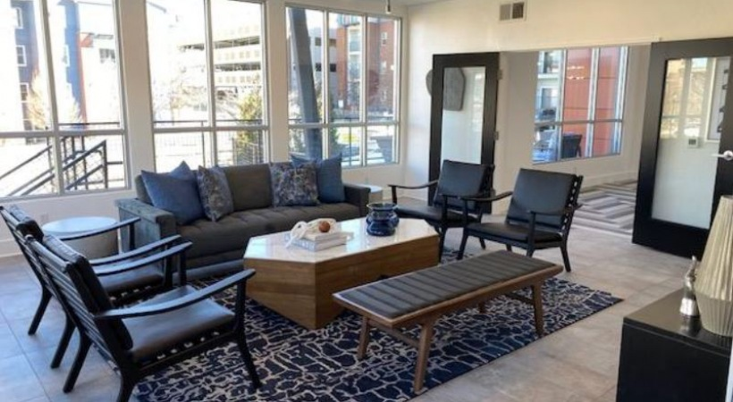 Our Highlands Ranch apartment clubhouse