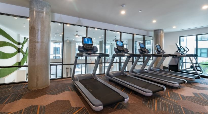 24/7 Fitness Center with Yoga & Spin Studio